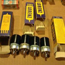 Lorenz C3g preamp tubes dual triode NOS GOLD PINS   300B driver