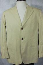 GORGEOUS Bruno Piattelli for Barney's NY Light Tan Cotton Sport Coat Italy 46R