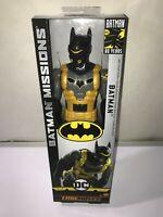"DC Comics Batman Missions True-Moves Anti-Toxin Batman Batsuit 12"" Action Figure"