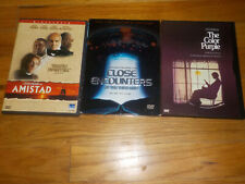 Steven Spielberg Dvd The Color Purple/Amistad/Close Encounters of the Third Kind
