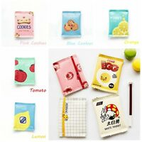 Cute Snacks Print Coin Purse Mini Wallet Money Bag Change Pouch Key Holder Bag