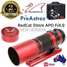 William Optics RedCat 51mm F/4.9 Petzval APO Refractor Telescope - presale