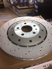 Pair of Audi RS6 4F 2008-2011 Rear Brake Discs 356 x 28mm 4F0615601H