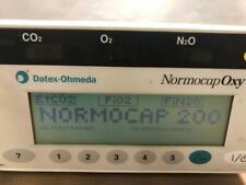 Datex-Omeda NormoCap 200 Anesthesia Machine