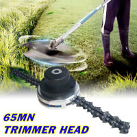 65Mn Trimmer Testa bobina catena Brush Cutter giardino tagliaerba tosaerba  !