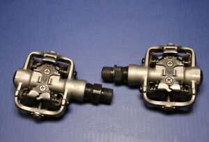 Ritchey Clipless Pedals Shimano SPD Compatible Gray Mountain Bike MTB - NICE!!