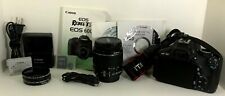 Canon EOS Rebel T3i 18.0MP Digital SLR Camera with Original Canon Accessories+