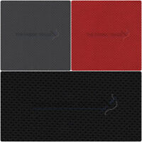 SEMI PERFORATED LEATHERETTE CAR SEAT MATERIAL FAUX LEATHER FABRIC 140cm WIDE