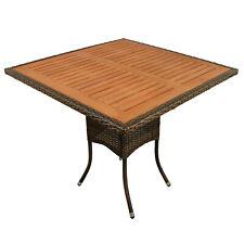 Sonderposten Gartentisch Terrassentisch Balkontisch Garten Möbel Holz Polyrattan