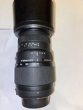 Sigma DG Nikon AF-S fit 70-300mm UPDATED VERSION AF Zoom Lens Built in Motor
