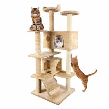 Cat Tree Tower Condo Furniture Scratch Post Kitty Pet Play House Bed New
