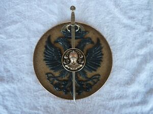 Wall plaque - Spanish coat of arms style - made in Spain