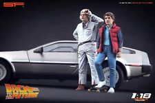 1:18 Back to the Future figurines Doc & Marty NO CAR!! for diecast collectors