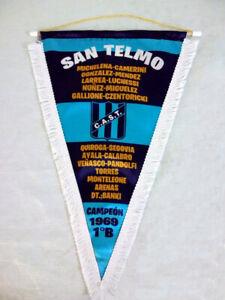 C.A. SAN TELMO - 1° B CHAMPION 1969 - Soccer - PENNANT - FOOTBALL Argentina