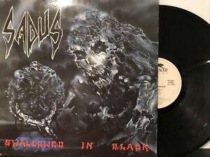 Sadus – Swallowed In Black LP 1990 Roadracer Records – RO 9368 1 EX/EX *NL