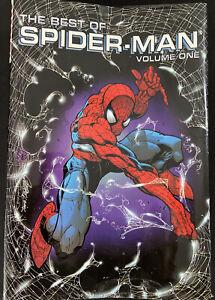 The Best of SpiderMan Volume 1 - Hard Cover Book - 2002 - Marvel - Graphic Novel