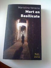 Mort en Basilicate - Mariolina Venezia - Nil Editions