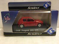 Solido Peugeot 205 GTI #1508 1:43 Metal Die Cast Scale Model