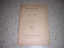 1904.Montluçon essai de géographie humaine / Antoine Vacher.envoi autographe
