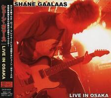 SHANE GAALAAS Live In Osaka +1 JAPAN CD OBI ZACB-9024 Cosmosquad Diesel Machine