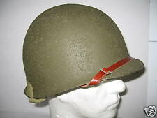 """CASQUE US M1 """"U"""" FIXES VERSION """"LUXE"""" 1942 - RAYONNE"""