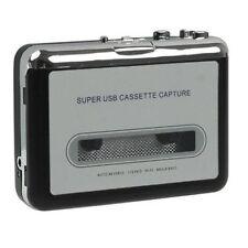 Ezcap tape Cassette to digital Mp3 converter through Pc auto reverse headphones