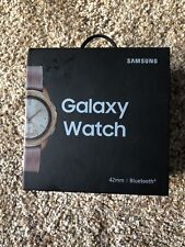 New Samsung Galaxy Watch 42mm R810 Stainless Steel Case Rose Gold Pink Watch US