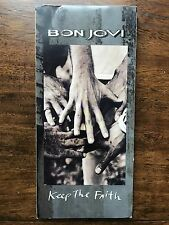 Bon Jovi Keep The Faith CD Long Box Only - No Disc - No CD