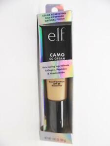 e.l.f. Camo CC Cream Color Correcting Full Coverage Foundation SPF30 Light 240 W