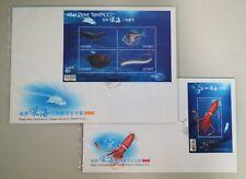 TAIWAN Deep-Sea Creatures in Taiwan (2012) - Miniature Sheet FDC