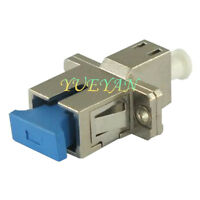 LC-SC Female to Female Simplex Adapter SM Fiber Optic Hybrid Optical Adapter