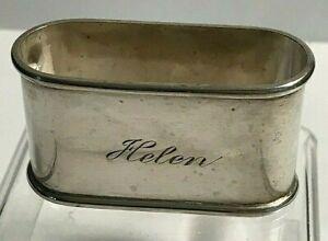"Antique Sterling Silver R. Blackinton  ""Helen"" Napkin Ring"