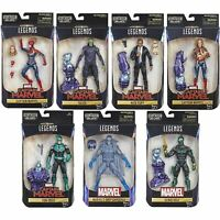Hasbro Marvel Legends Captain Marvel Series With Kree Sentry BAF 6 Inch Figure