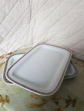 COLDITZ - 2 schöne gr.Porzellan Platten Servierplatten / Fleischplatten