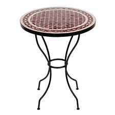 Marokkanischer Mosaiktisch orientalischer Tisch Bistrotisch Gartentisch 60cm Ren