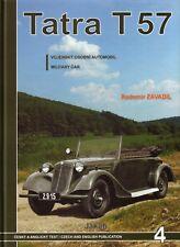 Book - Tatra T 57 Military Car Germany WWII - English - Jakab - Radomir