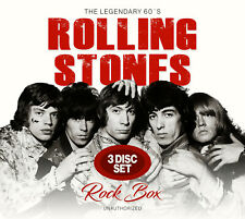 ROLLING STONES New Sealed 2020 ROOTS & 1960s LIVE CONCERTS 3 CD BOXSET