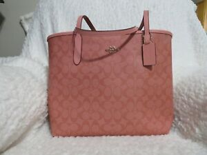 Coach Signature City Tote (Candy Pink)-NWT (5696)