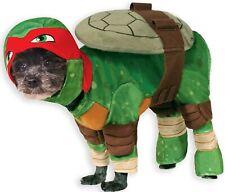 New TEENAGE MUTANT NINJA TURTLES Raphael DOG COSTUME Rubie's Fun Pet TMNT Outfit