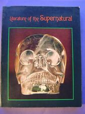 Literature of the Supernatural 1974 Illust Ray Bradbury Edgar Allan Poe HG Wells