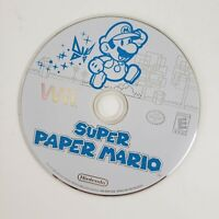 Super Paper Mario (Nintendo Wii, 2007) Mint - Disc Only - Tested & Working