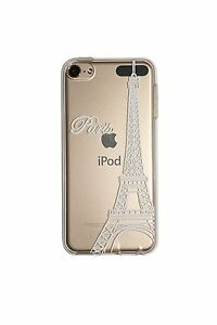 Case Gel Printed For Apple Ipod Touch 6 (Release 2015) - Tour Eiffel
