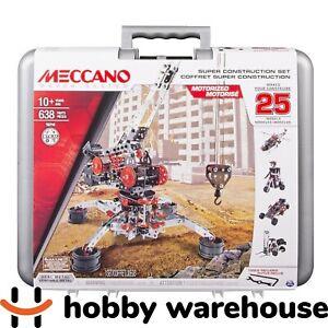 Meccano 16214 Multimodel Super Construction Set
