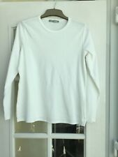 M&S Woman Long Sleeve Top White 18