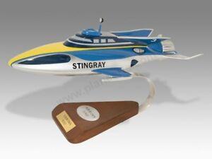 Gerry Anderson Thunderbird Thunderbirds Stingray Solid Handmade Desktop Model