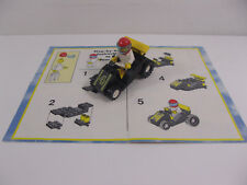 VINTAGE LEGO #1563 STUNT CLUB TRACK BLASTER SET COMPLETE INSTRUCTIONS KELLOGG'S