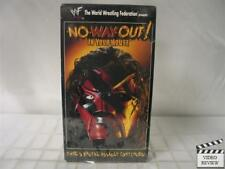 WWF In Your House - No Way Out! VHS 1998