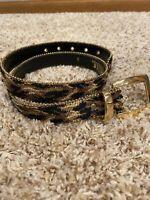 Elite Fresno Size Small 32 Inches  Needlepoint Belt Size