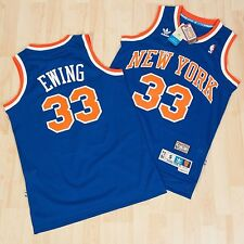 NBA Swingman Patrick Ewing #33 New York Knicks  Basketball Jersey Blue  S M L XL