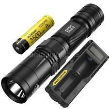 NITECORE EC23 1800 Lumen Flashlight w/ 1x 18650 Battery and UM10 Battery Charger
